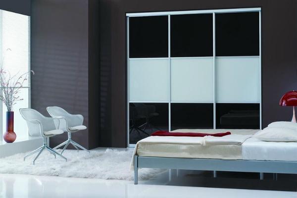شیشه رنگی اتاق خواب تلفیقی