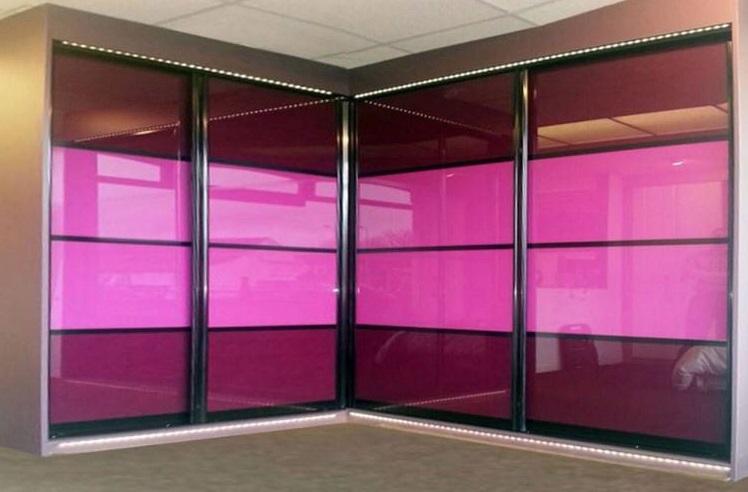 شیشه رنگی فروشگاهی تلفیقی