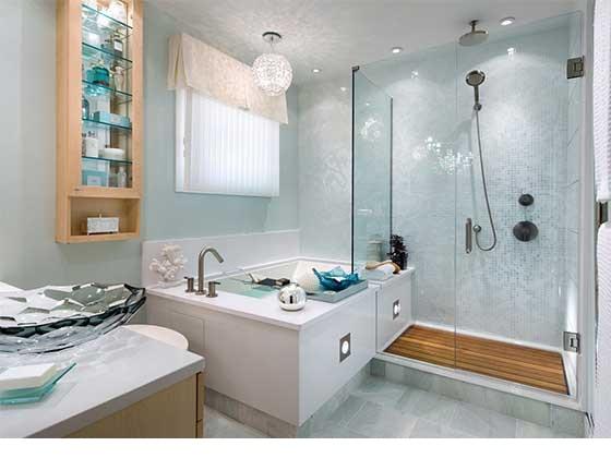 دکوراسیون حمام خاص و زیبا