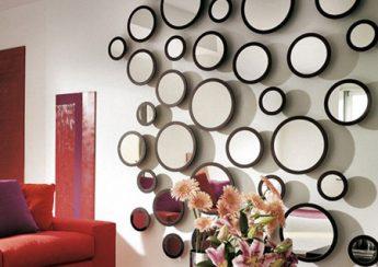 آینه رنگی دکوراتیو