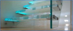 شیشه لمینت پله
