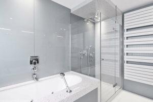 شیشه سکوریت در حمام