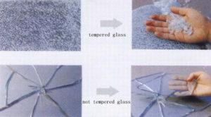 شیشه سکوریت و معمولی