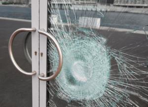نمونه شیشه ضد گلوله