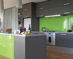 شیشه رنگی آشپزخانه